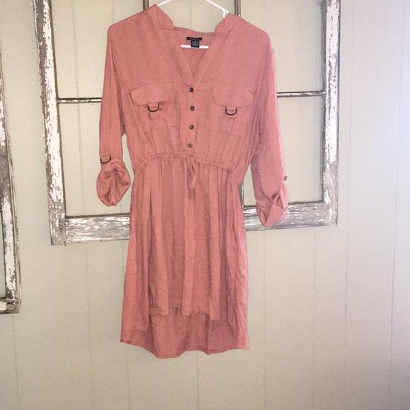 Rue21 Dresses & Skirts - Pink tie dress